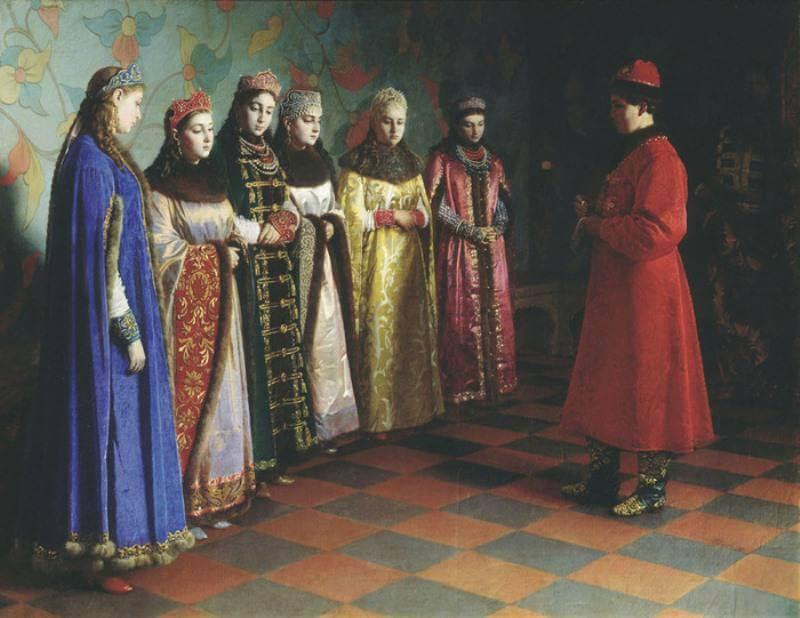 Г.Седов Выбор невесты